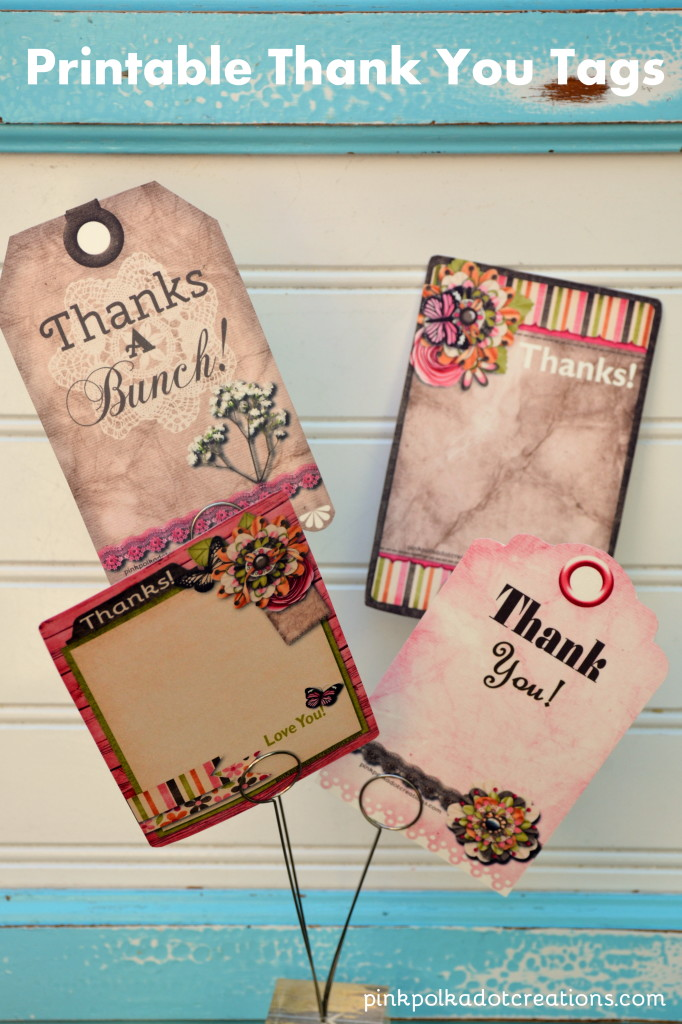 printable thank you tags