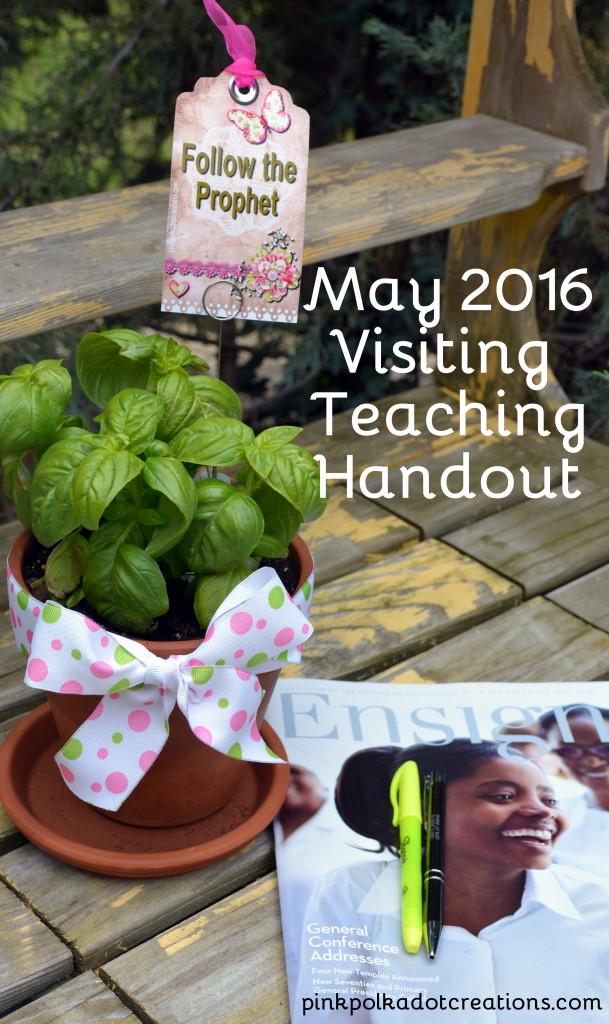 May 2016 VT handout