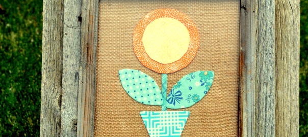bloom applique picture