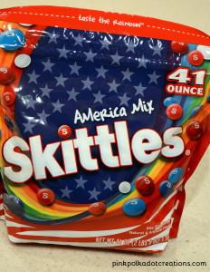 America Mix skittles