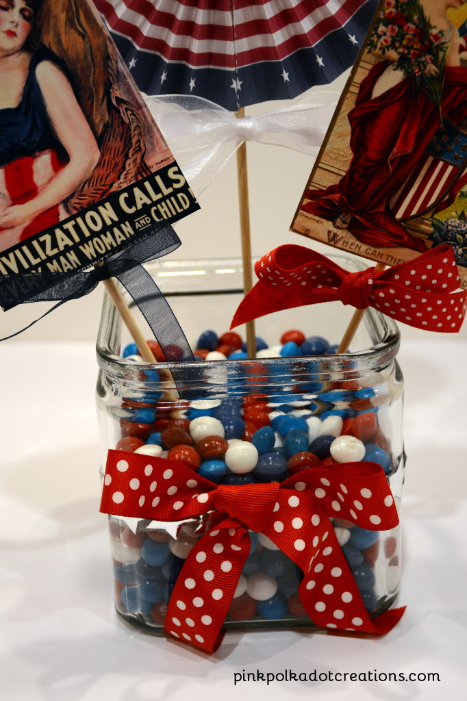vintage memorial day craft