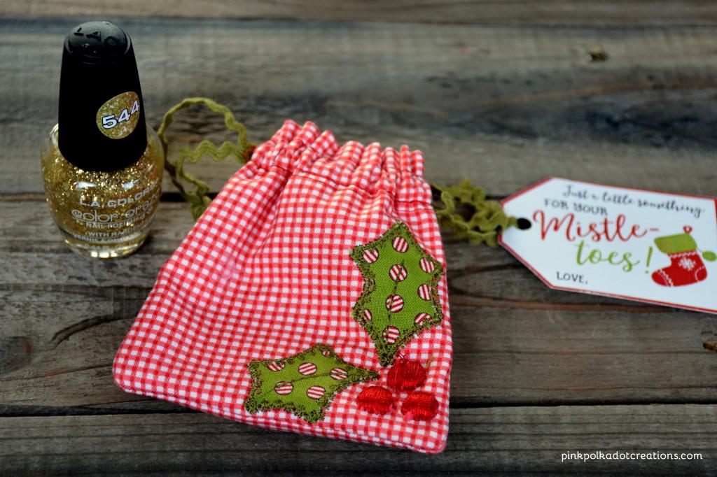 kimberbell mistletoe bag