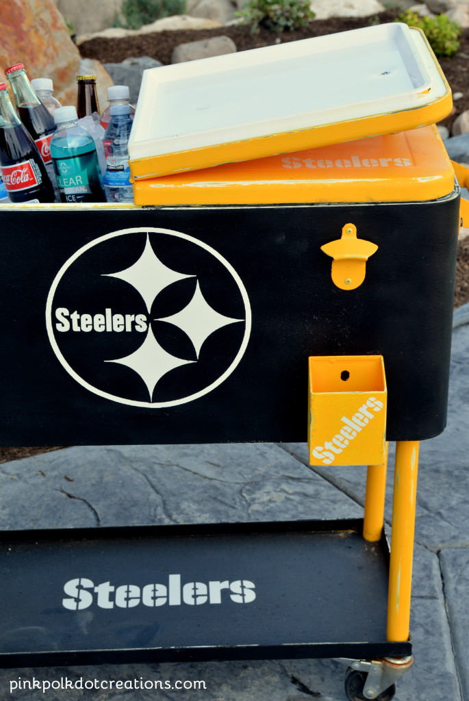 ice cooler makeover