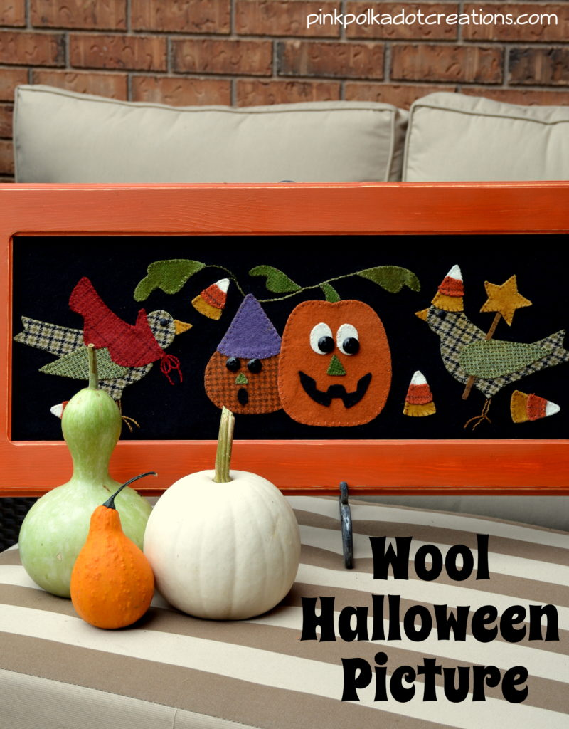 wool Halloween picture
