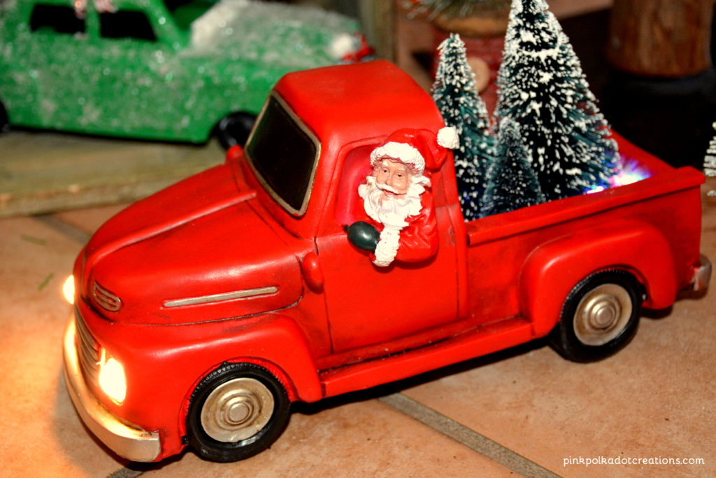 vintage Christmas truck