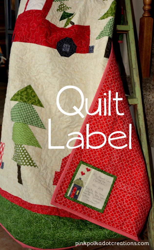 quilt label-home