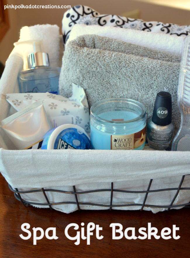Foot Spa Gift Basket Ideas