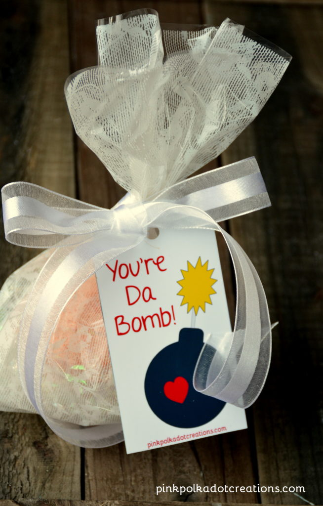 you're da bomb tag