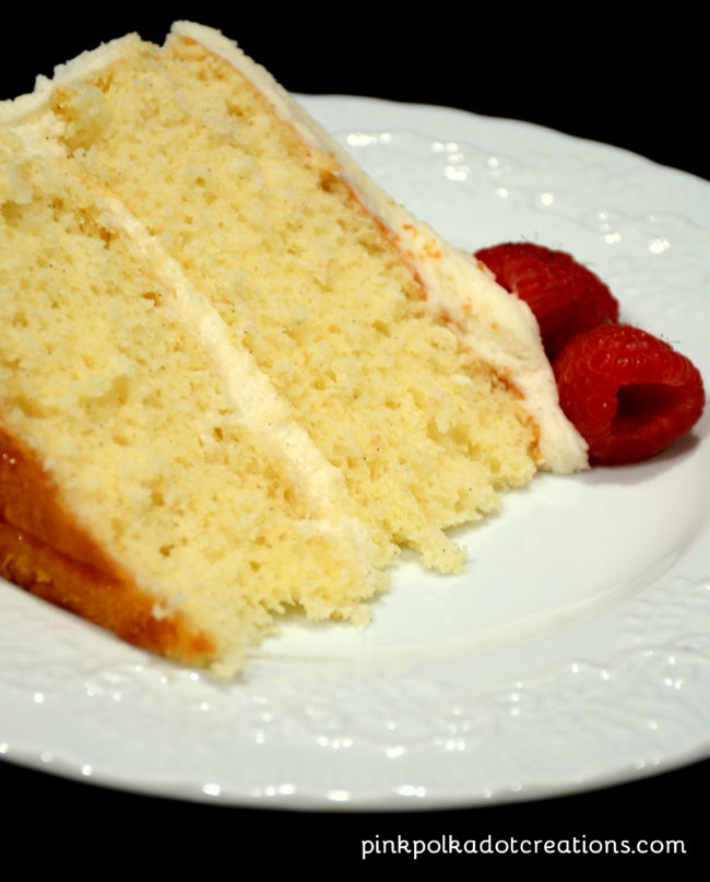 vanilla-buttermilk cake
