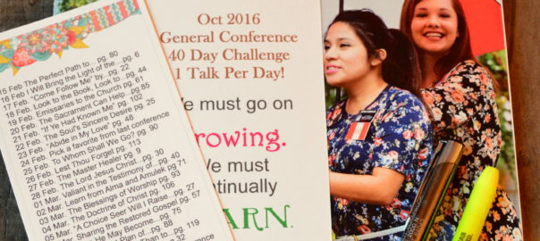40 day conf. challenge Oct 2016
