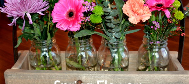 spring flower vases