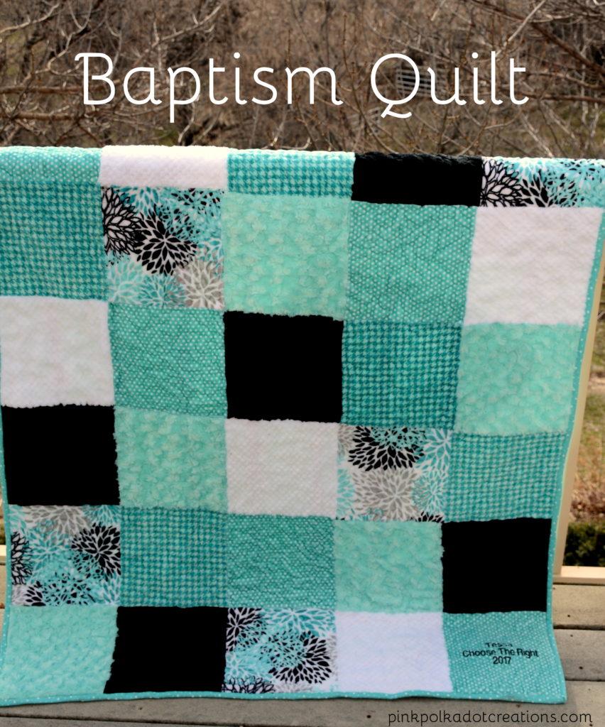 baptism quilt
