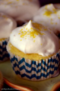 light lemon cupcakes