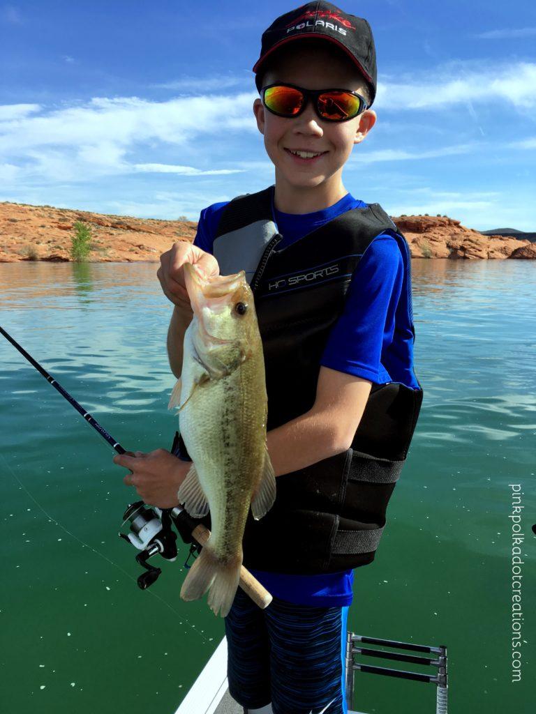 bass fishing trip