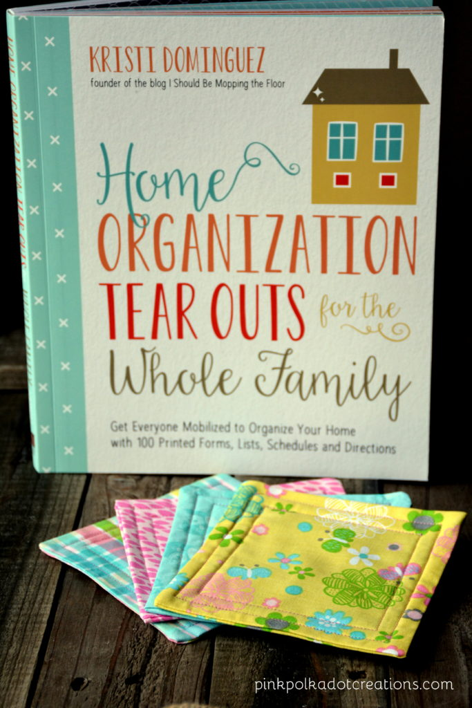 Kristi's organization book