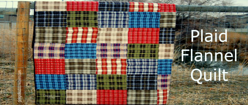 plaid flannel Quilt-header