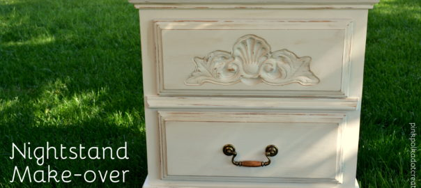 nightstand make-over