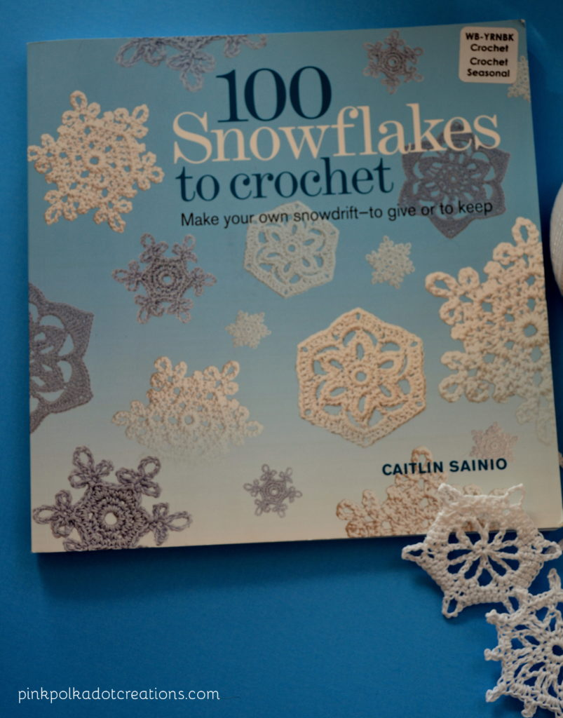 Snowflake Love Quotes Vintage Crochet Snowflakes  Pink Polka Dot Creations
