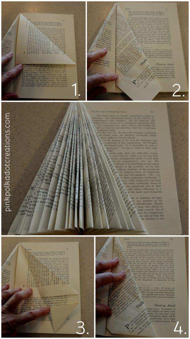 DIY Christmas Book angels