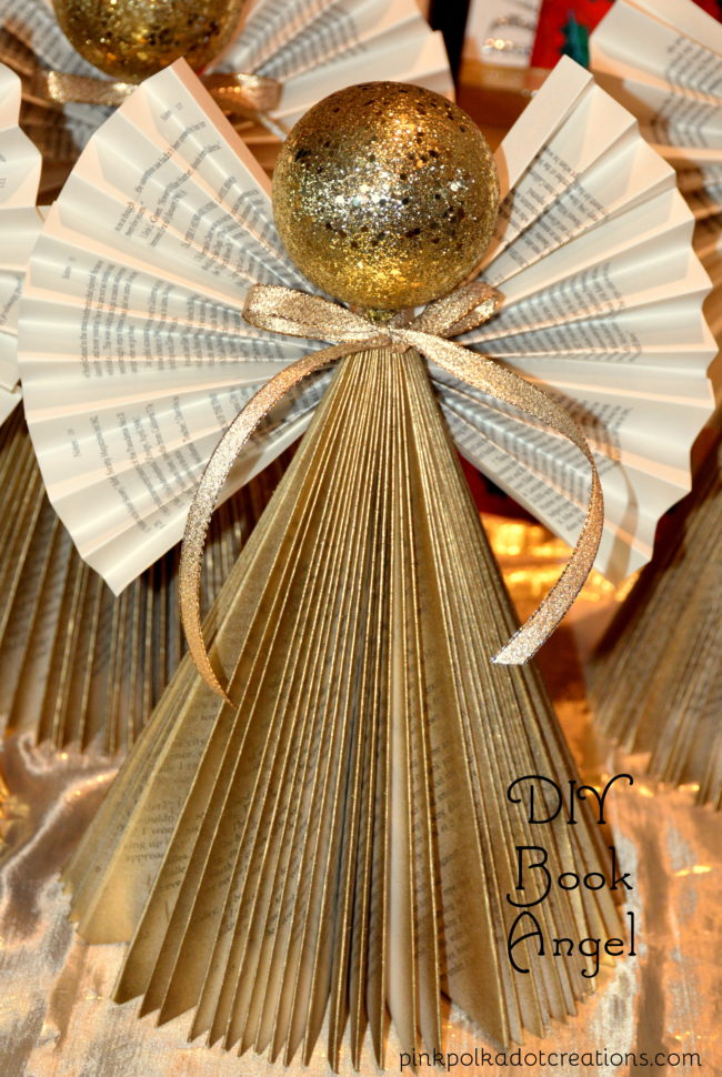 DIY Christmas book Angels