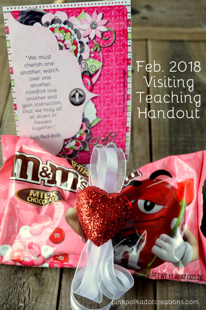 Feb. 2018 visiting teaching handout