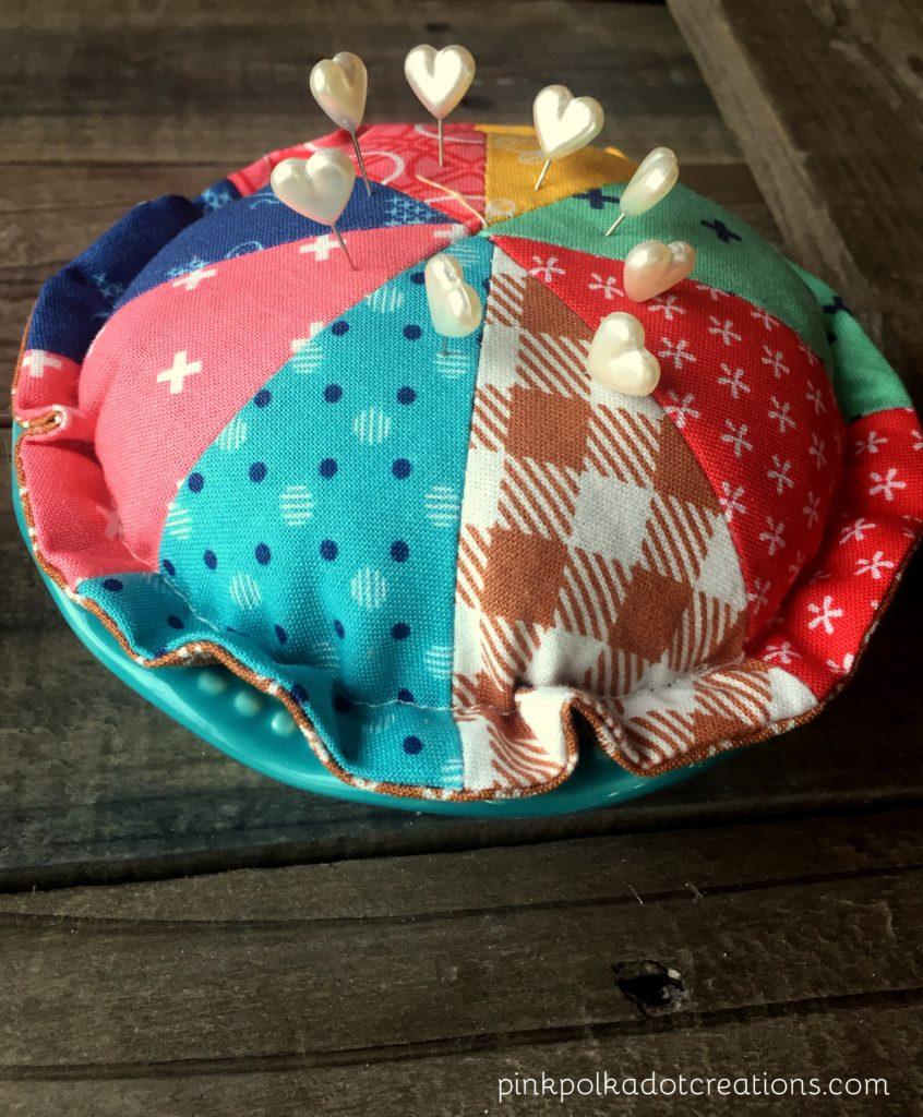 cutie pie pin cushion