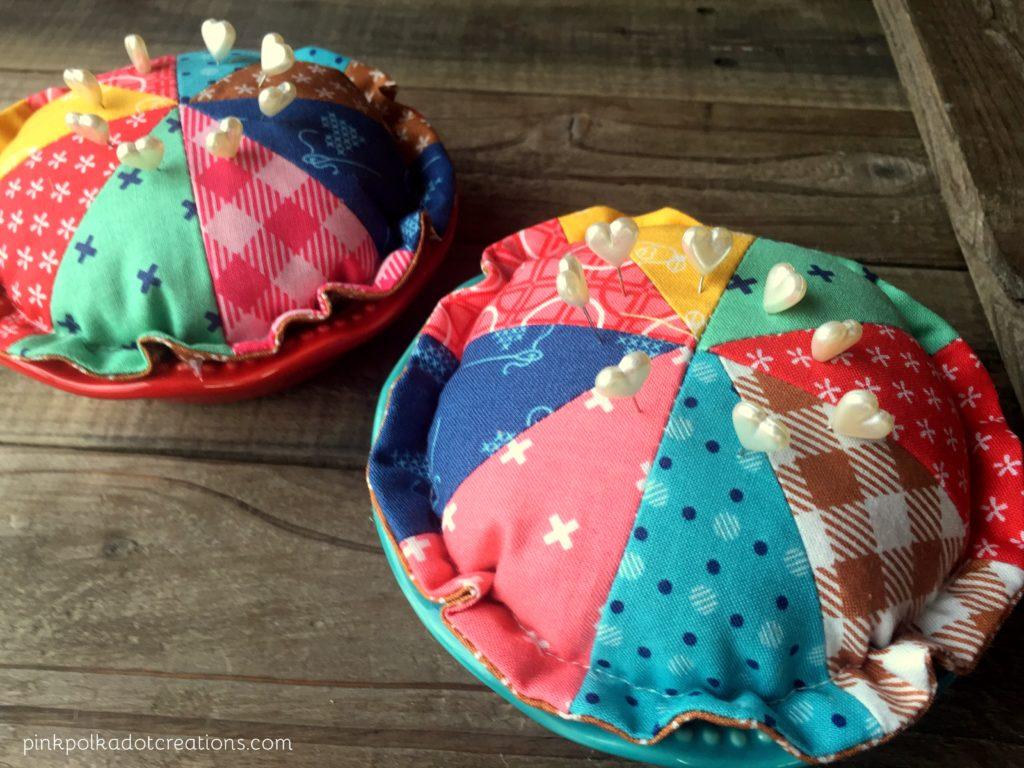cutie pie pin cushions