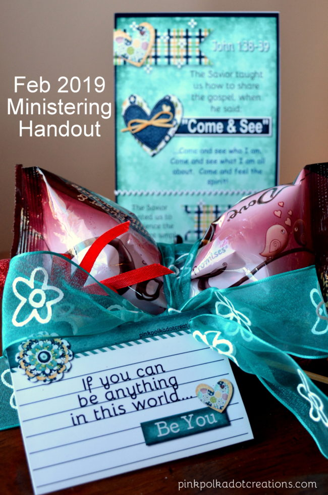 afc85fce78 Feb 2019 Ministering Handouts - Pink Polka Dot Creations