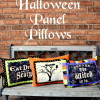 Halloween Panel Pillows