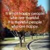 It is Not Happy People…