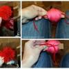 Pom Pom Valentine Wreath