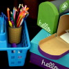 Kid's Mailboxes & Writing Station