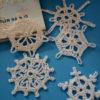 Vintage Crochet Snowflakes